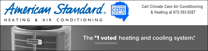 American Standard Air Conditioning & Heating Products